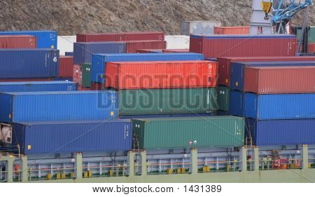 Freight At Dock