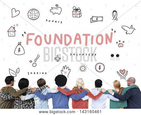 Foundation Donations Charity Support Concept