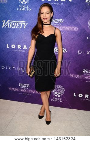 LOS ANGELES - AUG 16:  Martina Garcia at the Variety Power of Young Hollywood Event at the Neuehouse on August 16, 2016 in Los Angeles, CA