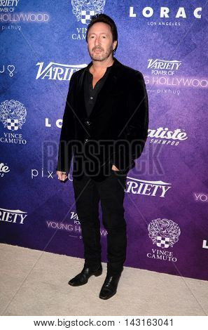 LOS ANGELES - AUG 16:  Julian Lennon at the Variety Power of Young Hollywood Event at the Neuehouse on August 16, 2016 in Los Angeles, CA