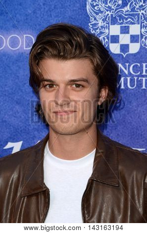 LOS ANGELES - AUG 16:  Joe Keery at the Variety Power of Young Hollywood Event at the Neuehouse on August 16, 2016 in Los Angeles, CA