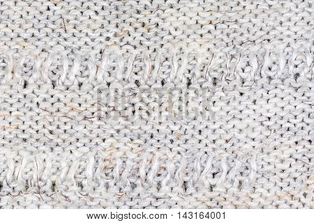 Multi-colored decorative woolen fabric texture background, close up