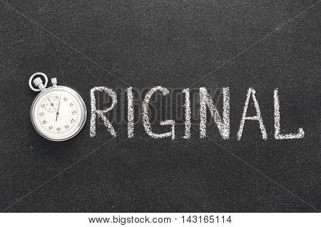 Original Word Watch