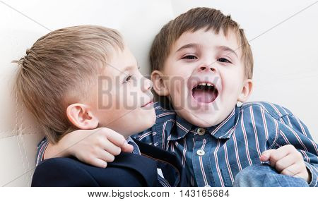 Two Brothers Play