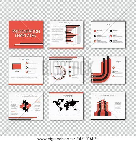 Collection of infographic Template , Infographic Element , Business infographic , Layout design , Modern Style , Vector design illustration. Orange version