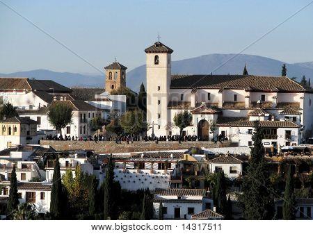 Church of San Nicolás, Granada, Spain