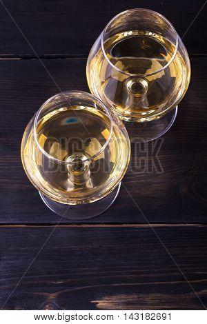 Glasses Of Brandy