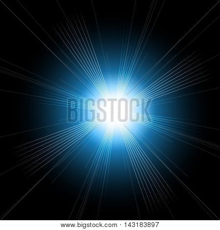 Optical lens flare glare lights super high resolution. Lighting effects of flash.