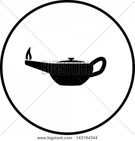 oil lamp symbol