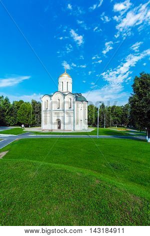 Cathedral Of Saint Demetrius (xii C.) In Vladimir, Russia