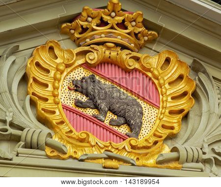 Coat of arms of Bern and Berne canton.Switzerland.