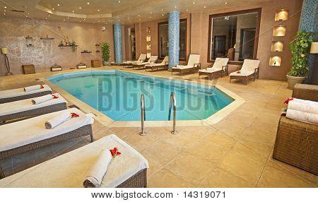 Pool In A Health Spa