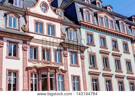 Historic Buildings In Mainz