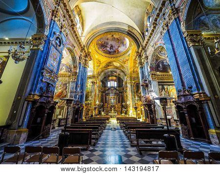 Santa Teresa Church In Turin (hdr)