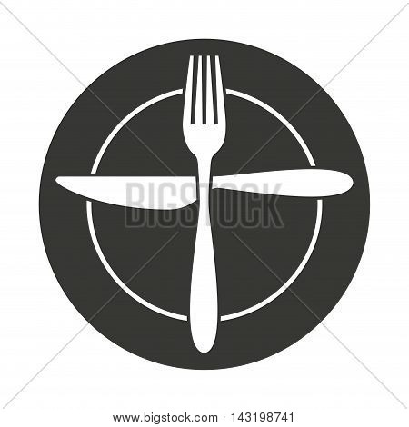 cutlery tool kitchenware isolated icon vector illustration design