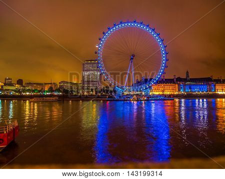 London Eye (hdr)