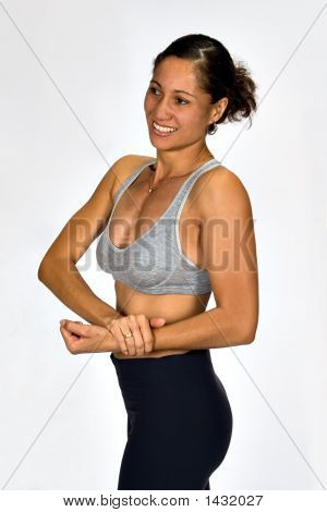 African Fitness Woman