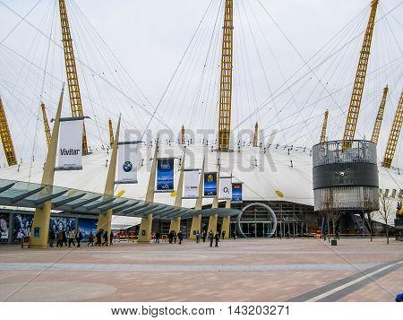Millennium Dome London (hdr)