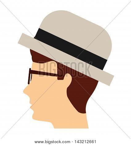 gondolier avatar isolated icon vector illustration design