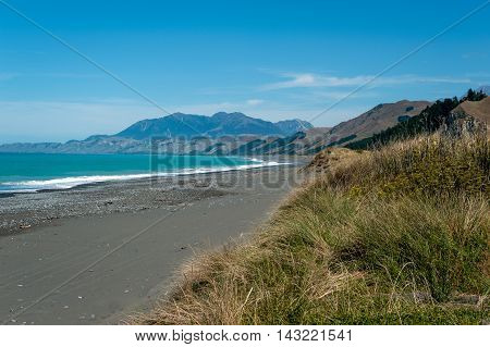 Rugged Coastline Of Kaikoura