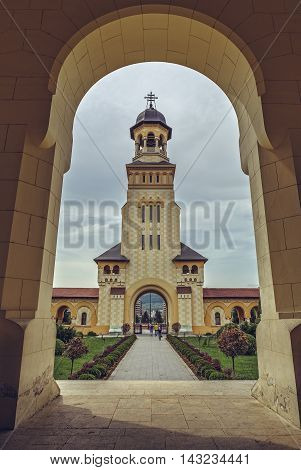 Coronation Cathedral Bell Tower, Alba Iulia, Romania
