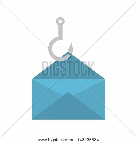 email envelope post postal hook hang correspondence letter post newsletter vector