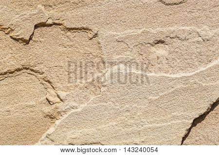 Beautiful texture exterior cladding sandstone wall Brown