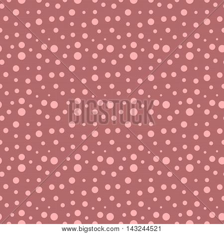 Polka dot seamless pattern. Fashion graphic background design. Modern stylish abstract texture. Colorful template for prints textiles wrapping wallpaper website etc. VECTOR illustration