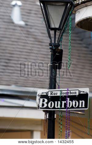 Signo de Bourbon Street