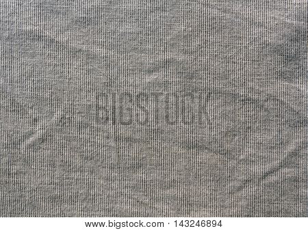 Grungy Grey Textile Cloth Texture.