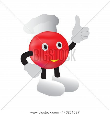 Fictional character , cook tomatoes with hands