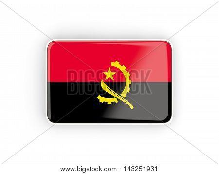 Flag Of Angola, Rectangular Icon