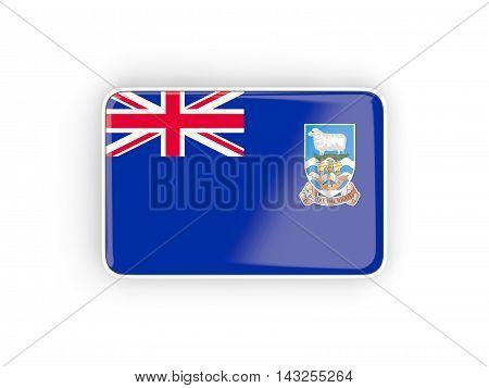 Flag Of Falkland Islands, Rectangular Icon
