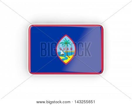 Flag Of Guam, Rectangular Icon