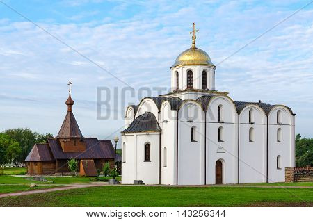 Annunciation Church and Church of Holy Prince Alexander Nevsky Vitebsk Belarus
