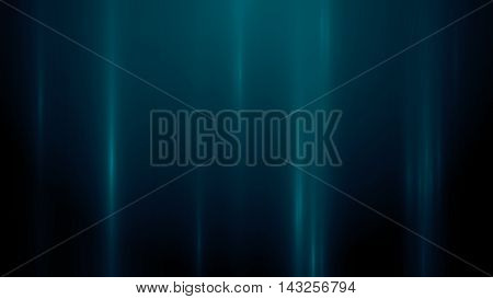 3d rendering abstract background with vertical light lines. Background with blue lines in motion darks tones could be useful as a frame or a texture. Blurred light lines.