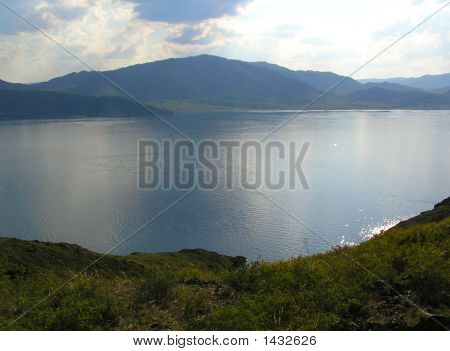 Lake In East Kazakhstan