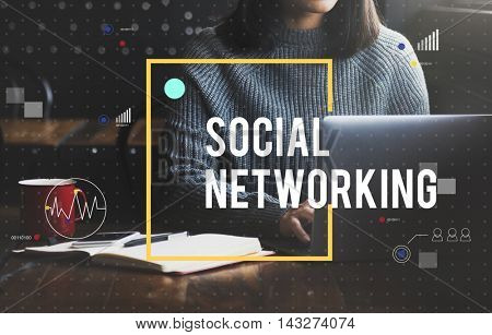 Social Networking Technology Online Concept