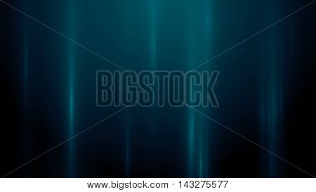 3d render abstract background with vertical light lines. Background with blue lines in motion darks tones could be useful as a frame or a texture. Blurred light lines. 3D illustration.