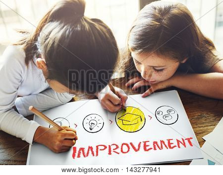 Personal Development Improvement Progress Aspirations Concept