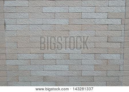 Background of  old brick wall texture plant