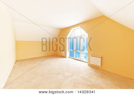 Attic Room Interior
