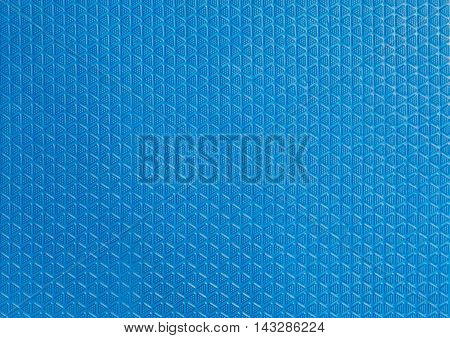 Blue Soft Rubber safety floor texture background