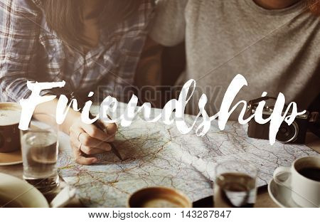Friendship Partnership Relationship Togetherness Concept