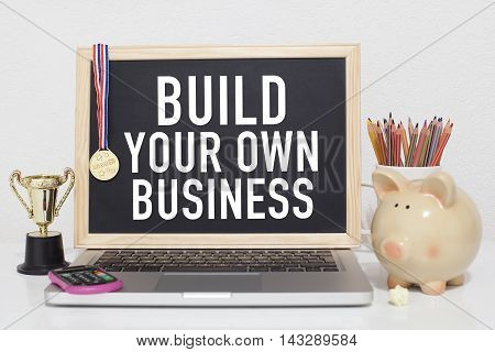 Build your own business note in office