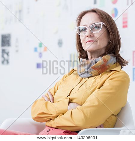 Lady In The Office