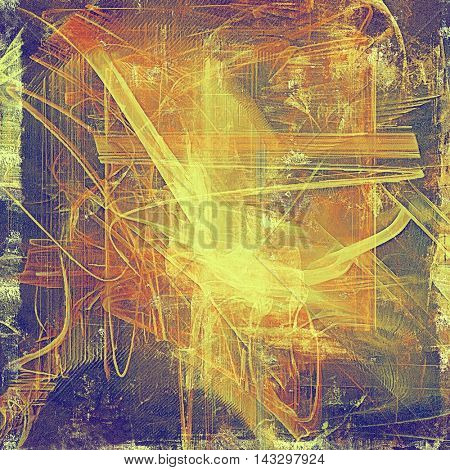 Cute colorful grunge texture or tinted vintage background with different color patterns: yellow (beige); brown; red (orange); purple (violet); pink