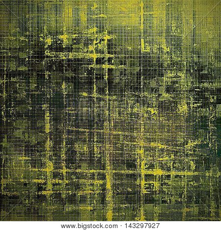 Hi res grunge texture or retro background. With different color patterns: yellow (beige); brown; black; green; gray