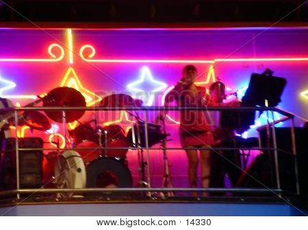 Band In The Nightclub