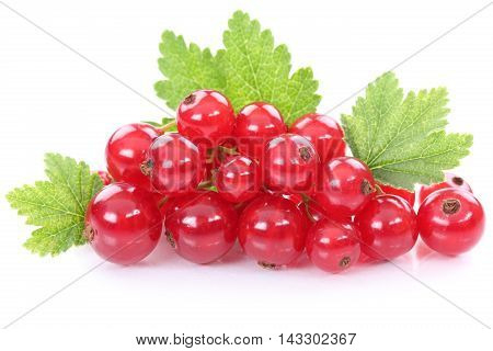 Red Currant Currants Berries Fruits Fruit Isolated